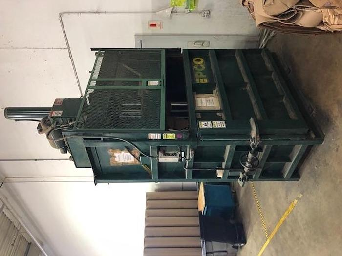 Used EPCO VERTICAL BALER 10 HP