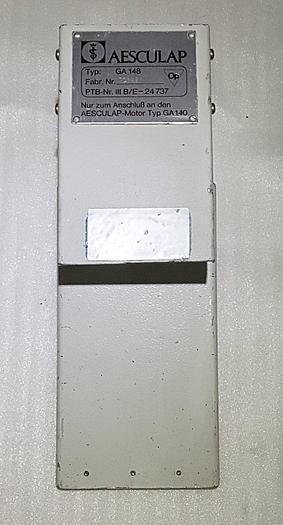 Gebraucht Aesculap GA 148 Fußschalter