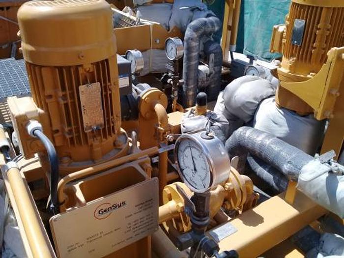 2.47 MW 2007 New Caterpillar MAK 9CM25 HFO Power Plant