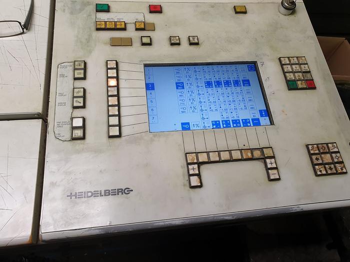 1998 Heidelberg SM 74-6+L UV