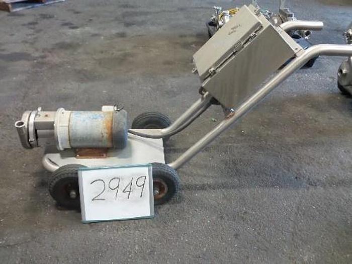 Used C216 Tri Clover 2 1/2'' x 1 1/2'' Centrifugal Pump #2949
