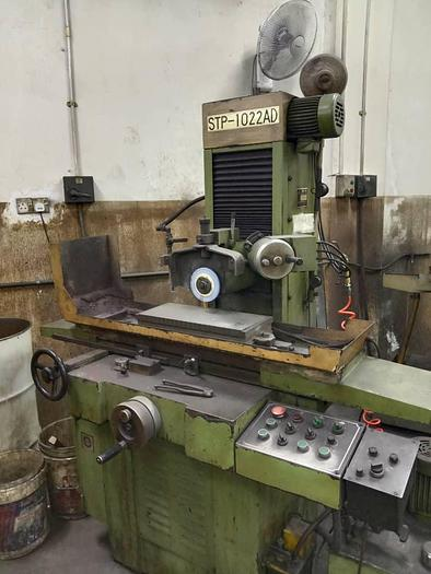 Used SUPER TEC STP-1022AD GRINDING MACHINE
