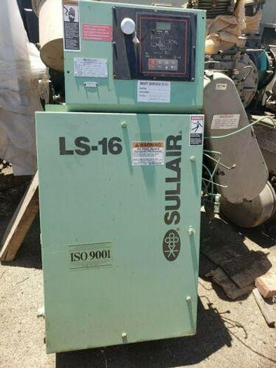 Used COMPLETE WORKING SULLAIR CONTROL PANEL / ELECTRICAL BOX AND STARTERS LS16 UNIT