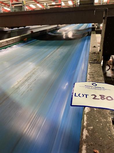 Used Steel Conveyor 6m L 0.85m W