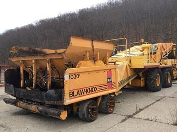 Used 1999 BLAW-KNOX MC30