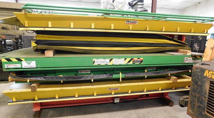 Used Presto 8' x 12' Hydraulic Scissors Lift PDL60-200