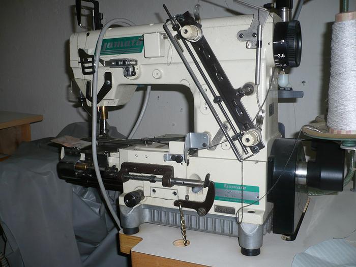 Gebraucht Doppelkettenstichmaschine YAMATO  VC2608-NL/UTA2  - 2-Nadel-Freiarm