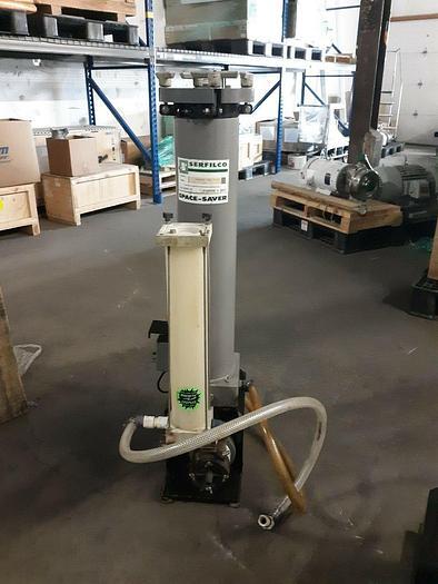 Used Serfilco Filter CL63ORX PPL20 3/4V PPV-STi Plating Filtration Pump