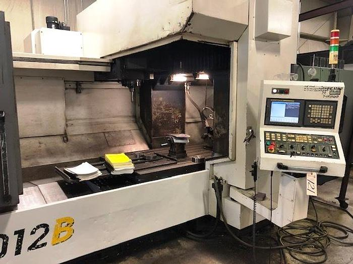 Used YCM DCV 2012B 4-Axis CNC Vertical Bridgemill