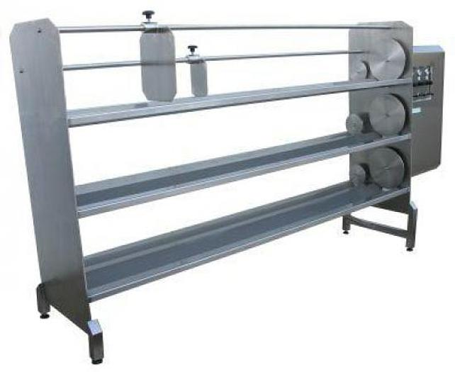 Horizontal Pneumatic Cheese Press Type PPS-H