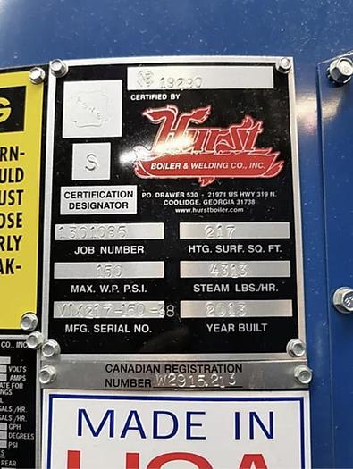 2013 Hurst 125HP 150 PSI Hurst VIX Series Hurst