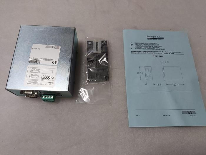 Anschaltbox, PCD7.F779, Saia,  neu