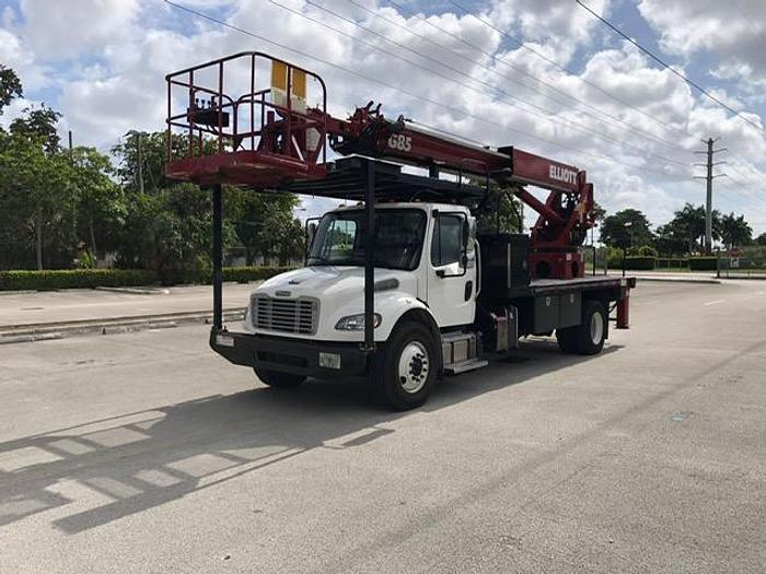 Used 2017 Freightliner M2 106 Elliott G85R Sign Crane - MW3504