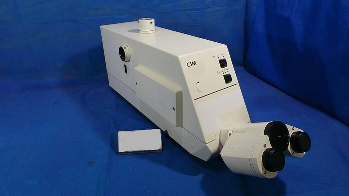 Used Carl Zeiss MEG Microscope, MEG System / CSM /