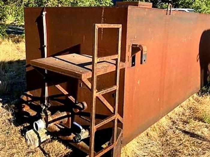Used 4000 Gallon Slip-In Dump Truck Water Tank