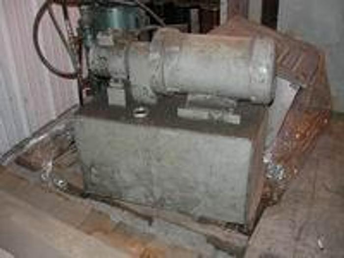 Used 5HP Hydraulic Pump with Reservoir