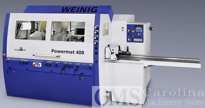 Used 2006 Weinig Powermat 400 Moulder