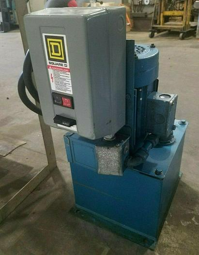 Used Parker Fluid Systems Hydraulic Power Supply Unit 2 HP
