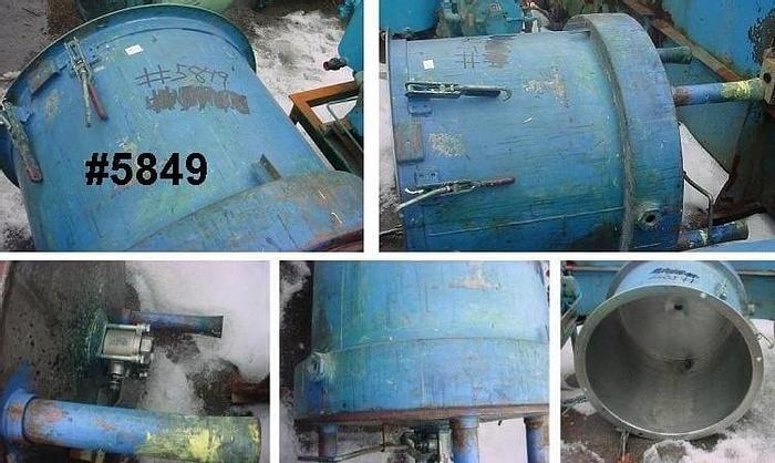 Used 70 GALLON MIX TANK – C/S – JACKETED – 32 in. DIA. X 30 in. DEEP