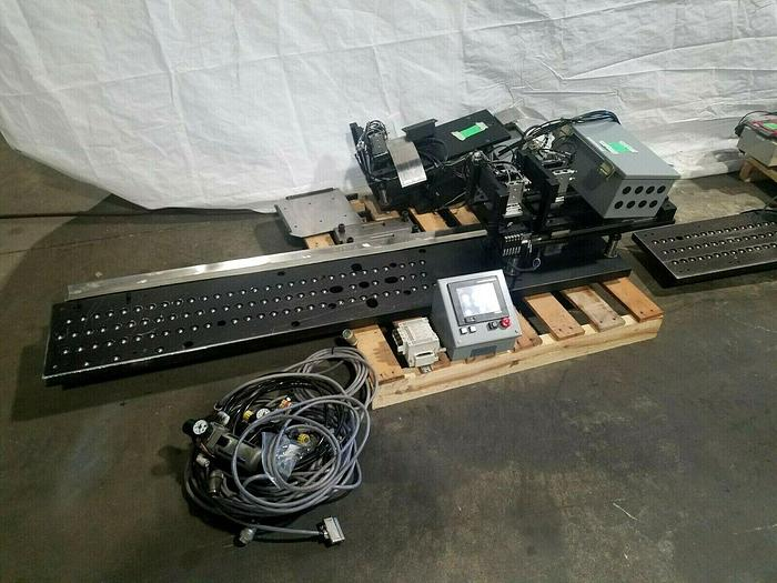 Used Automation Assembly System for in-line strip electronics production w/ PLC