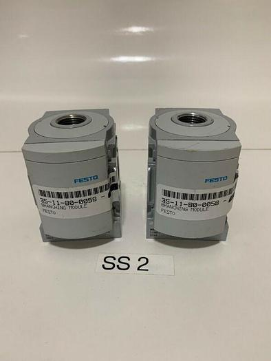 New Festo MS6-FRM-1/2 Branching Modules(Lot Of 2) Fast Shipping!