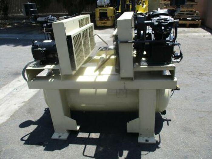 Ingersoll Rand Duplex 2-2545E10, 2 x 10 HP Air Compressor, 120 Gal Tank 175 PSI
