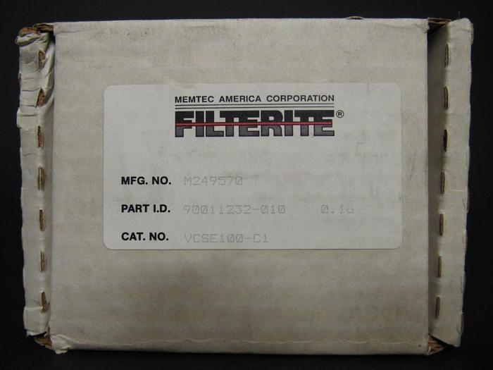 Memtec Filterite 90011232-010 0.1 Micron Filter Lot of 3 NEW  (3866)