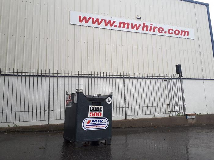 Used Fuel Proof 500L Fuel Cube
