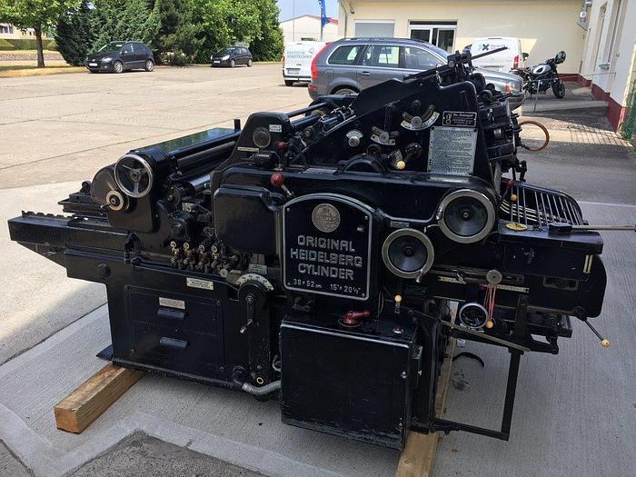 Gebraucht Original Heidelberg Zylinder OHZ, 1960, #1265772