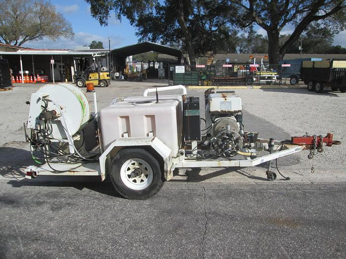 Used Harben Sewer Jetter with Trailer