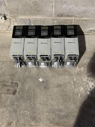 Used ALLEN BRADLEY POWERFLEX 700 DRIVE 2HP