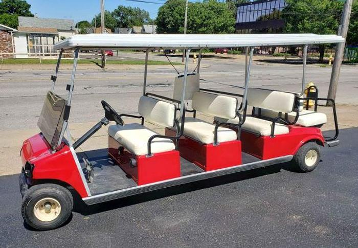 Used Club Car Gas Powered 8 Passenger Limo
