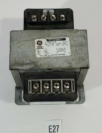 Used *PREOWNED* General Electric 9T58K0047 0.250 KVA 1 PH Transformer + Warranty!