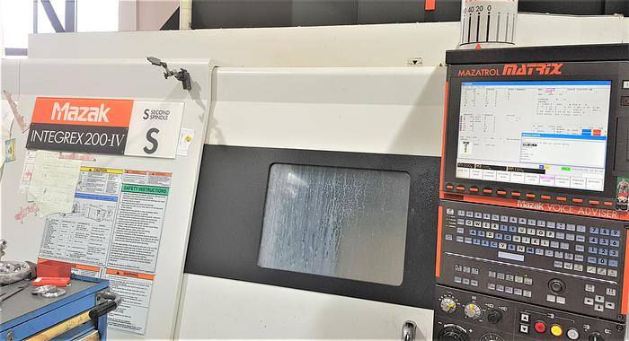 Used 2011 MAZAK INTEGREX 200 IV