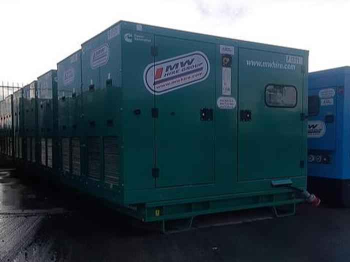 Used Choice of 66KVA Cummins Generators from €8950 +VAT