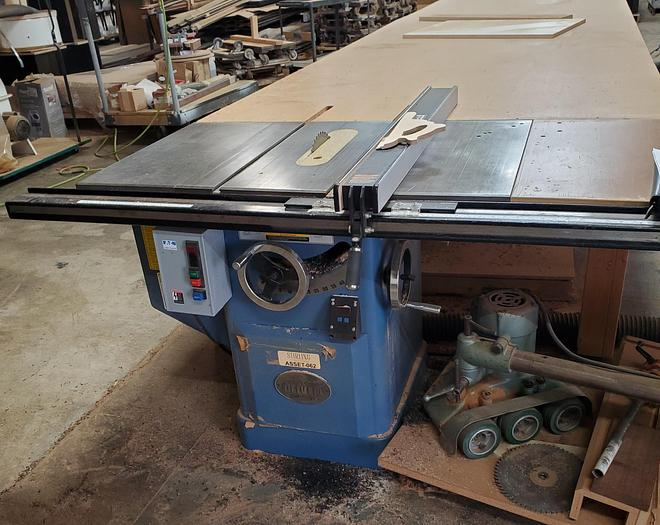 "Used Oliver 10"" Table Saw"