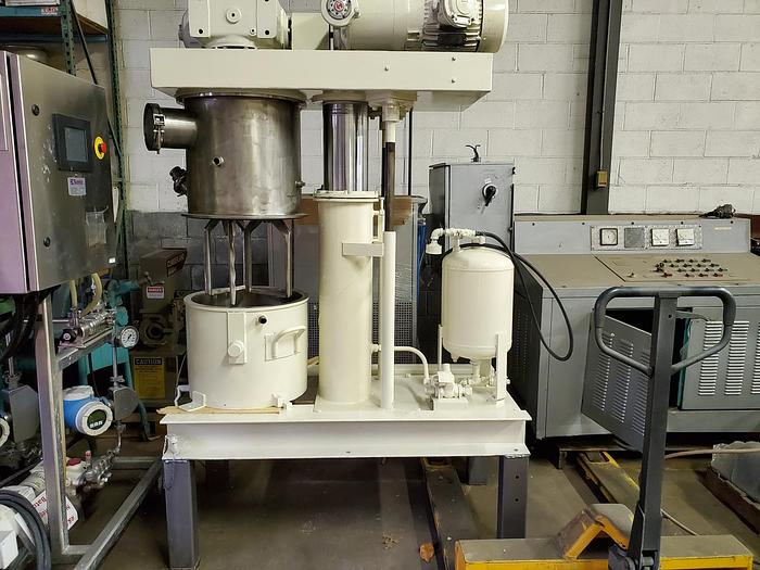 Used 10 GALLON ROSS DOUBLE PLANETARY MIXER – S/S – VACUUM & JACKETED (#9529)