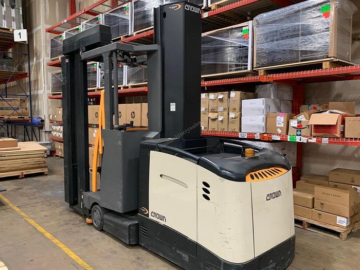 Used Crown Forklift TSP 6000 Series Stockpiler