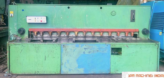 Used Jelsingrad MG 3100/12 Hydraulic Shearing Machine