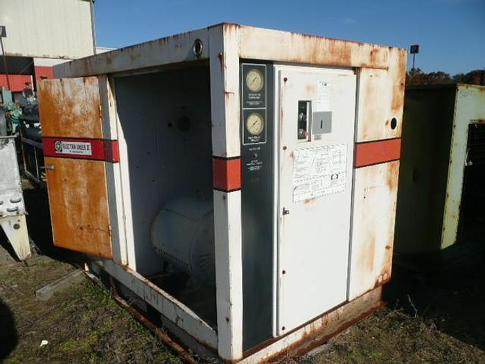 Used 100Hp GARDNER DENVER ROTARY SCREW AIR COMPRESSOR