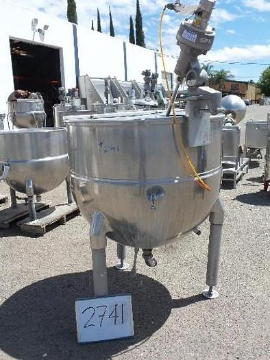 Used 150 Gallon Groen Jacketed Mix Kettle