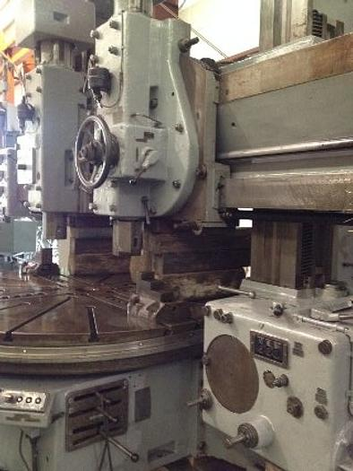 "90"" FRORIEP VBM, Two Ram Heads, 90"" 4-Jaw Chuck, 95"" Swing, 70"" UR, Side Head"