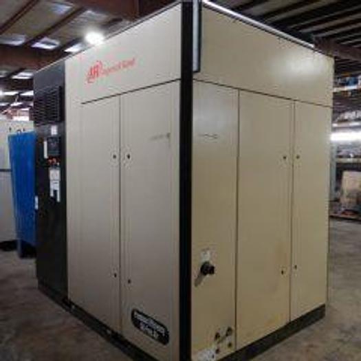 Used 150HP INGESOLL RAND NIRVANA ROTARY SCREW AIR COMPRESSOR