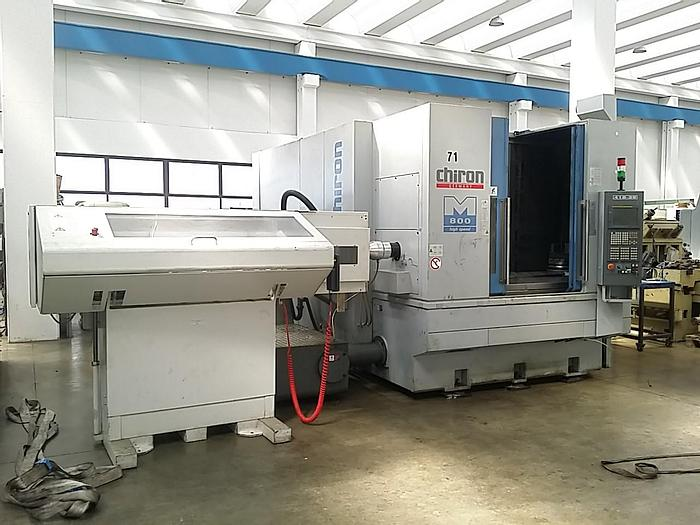 2006 Chiron MILL 800 5 axis milling turning