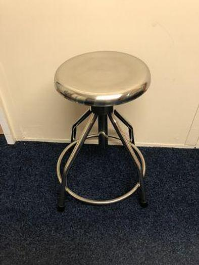 Surgeons Stool Stainless Steel(New)