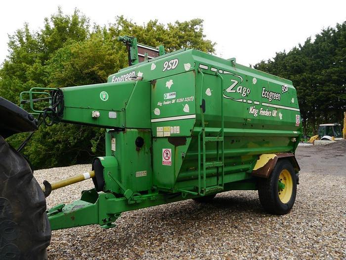 Used Zago Ecogreen 9SD Shredder