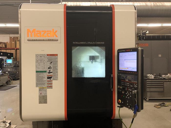 Used 2013 Mazak Vari-Axis i600