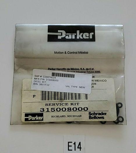 *NEW IN BAG* Schrader Bellows Parker 315008000 Service Kit + Warranty!