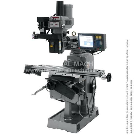 JET JTM-4VS Mill With 2-Axis ACU-RITE G-2 MILLPWR CNC 690938