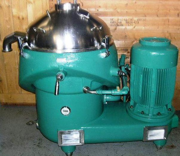 Refurbished Westfalia separator type SAMN 15007 in purifier configuration